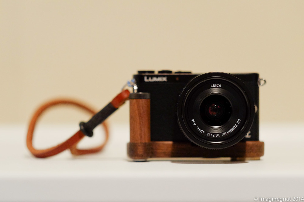 My Panasonic GM1, with the Panasonic Leica Summilux 15mm f1.7, JB Camera Designs grip and Gordy wrist strap