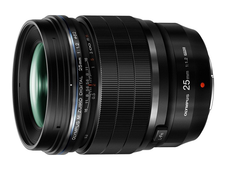 Olympus' new premium 25mm f1.2 - A true dream lens