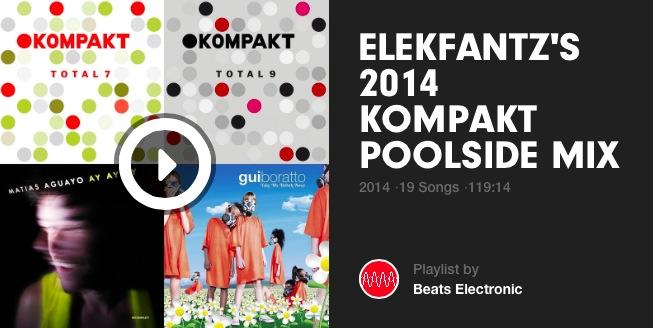 Elekfantz Kompakt 20 Poolside Mix Beats
