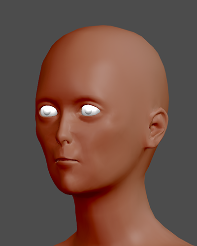 What you get when you try to copy anime facial proportions. Doesn't work for making it look anime, but could be very effective for making aliens.