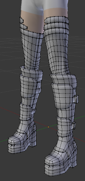 My outfit poly count is roughly the same as the body before modifiers.
