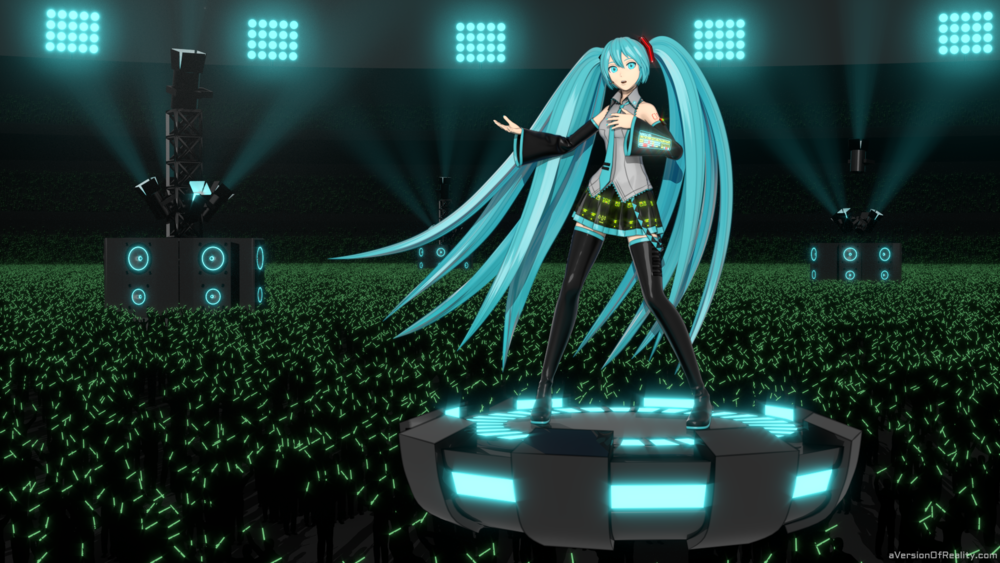 Hatsune Miku fanart. Click here for post.