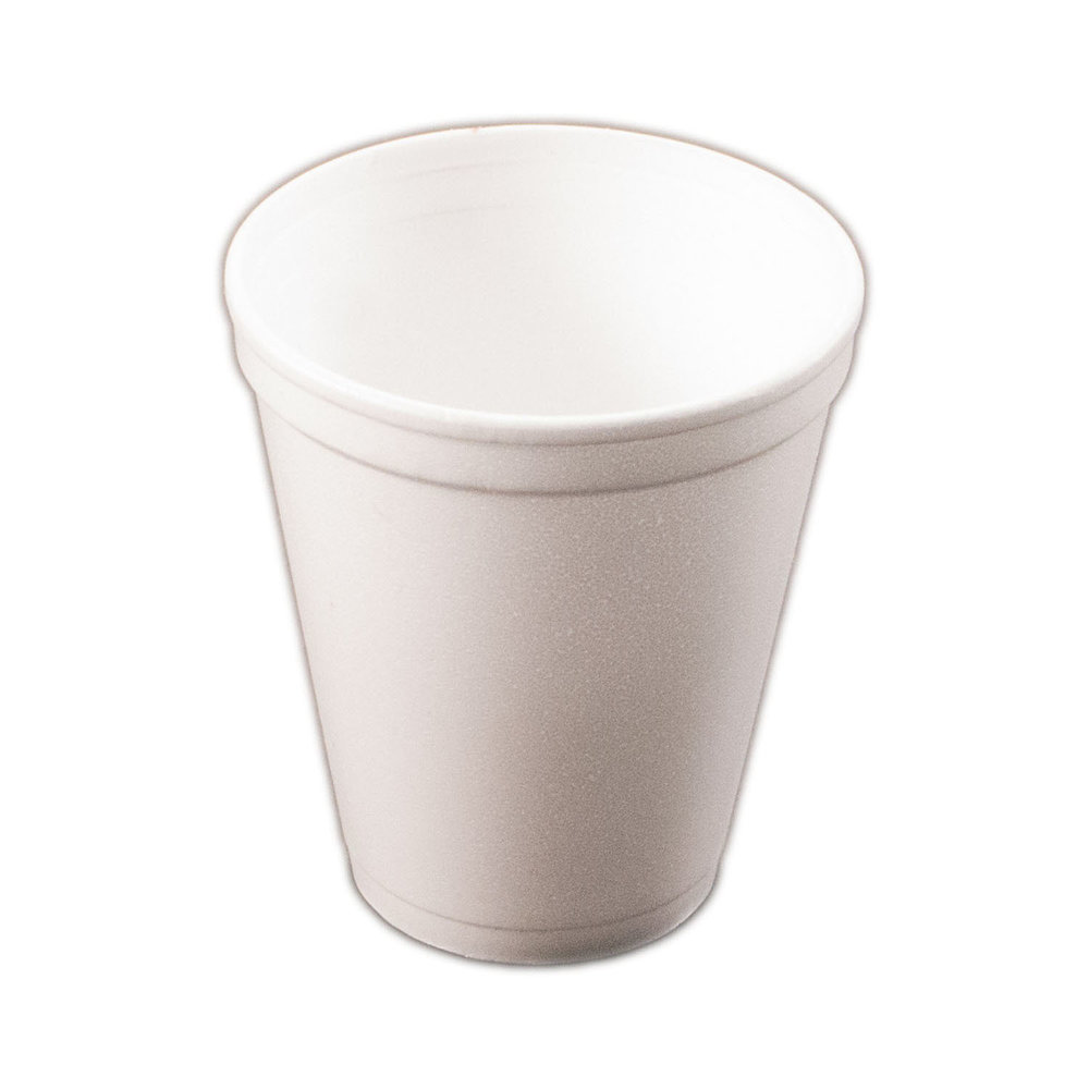 iK-FCUP INSULATED FOAM CUP    8OZ (240 ML) 25per sleeve 1000 per carton