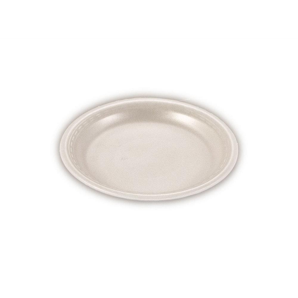 iK-FP07 Plate Round White    7 inch 100 per sleeve 1000 carton