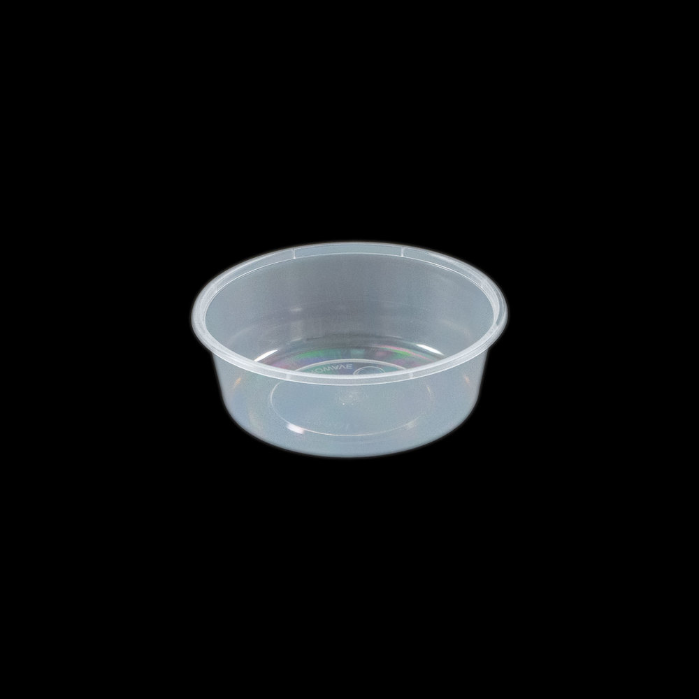 iK-C10 Takeaway Containers   Round 280mL 50 per sleeve 500 per carton