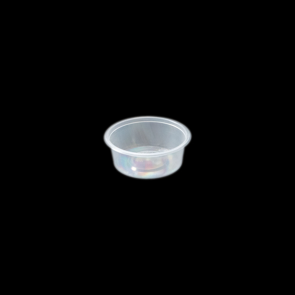 iK-C2 Takeaway Containers   Round 70mL container