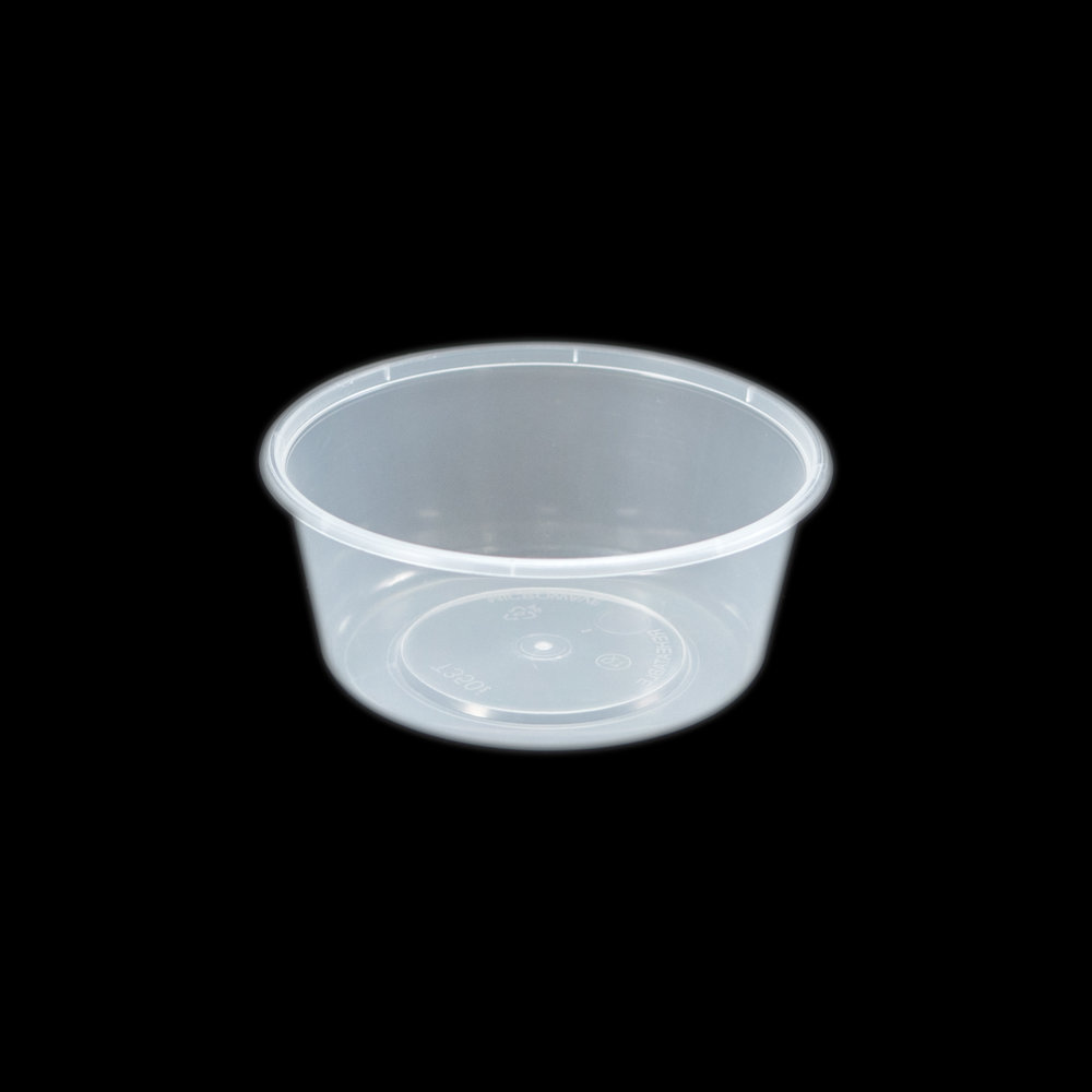 iK-C13 Takeaway Containers   Round 350mL 50 per sleeve 500 per carton
