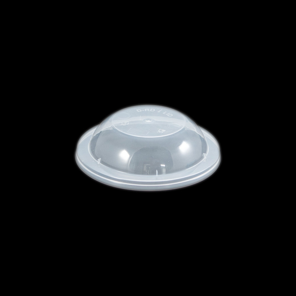 iK-CDOME Takeaway Container Dome   Dome Lid 50 per sleeve 500 per carton