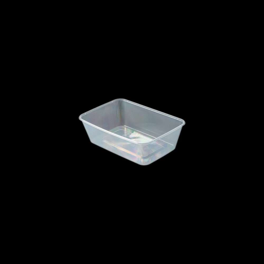 iK-CM700 Takeaway Containers   Rectangle 700mL 50 per sleeve 500 per carton