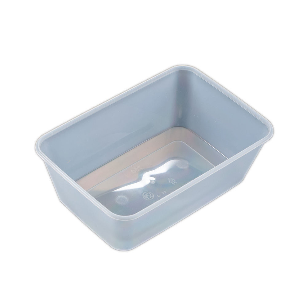 IK-FRZ750 containers & lid   750ml  50 per sleeve 250 per carton (5x50 bases and lid)