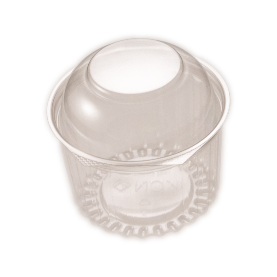 iK-4016DL     16oz RND WITH DOME HINGED LID   455ml (16oz) 50 per slv 250 per carton