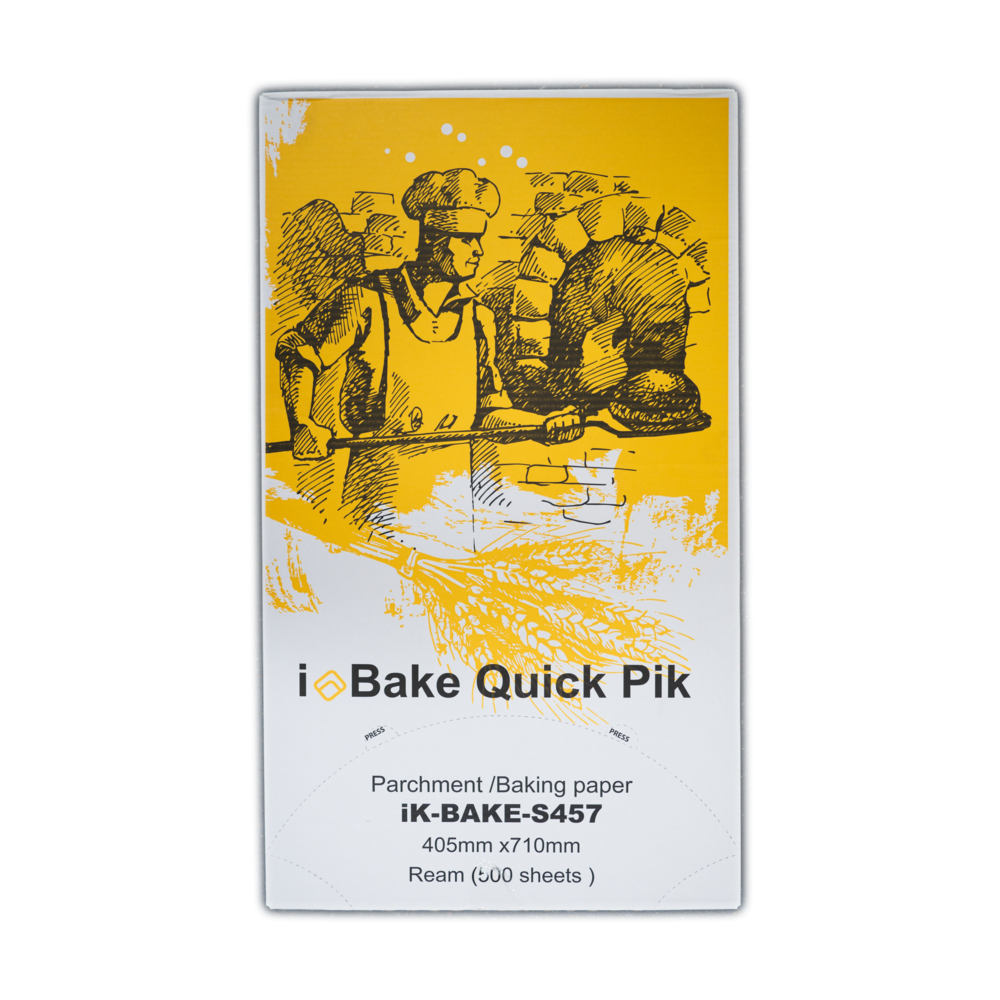 iK-BAKES457      iBAKE PARCHMENT BAKING PAPER    405 x 710mm 500 sheets