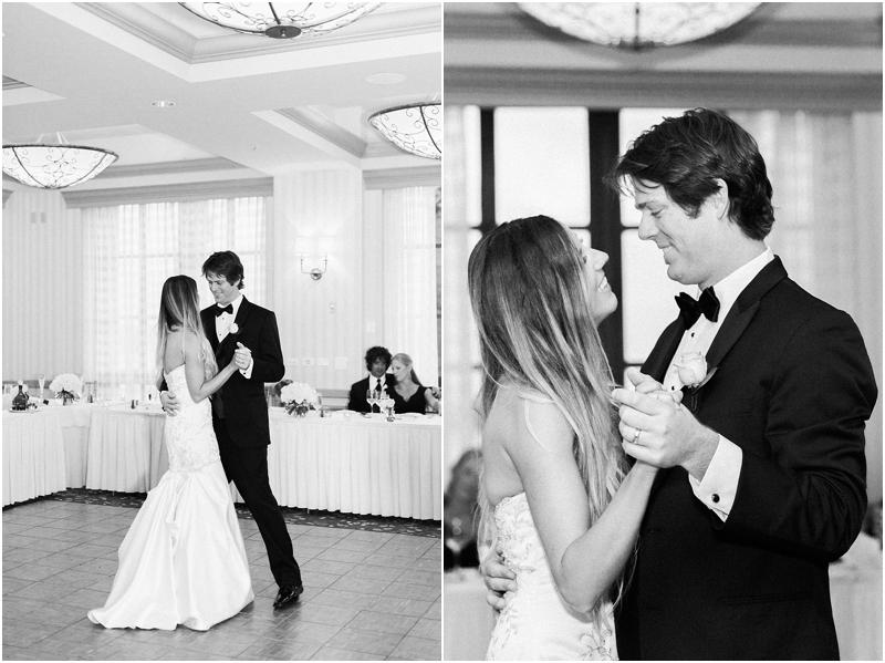 portofino hotel wedding first dance