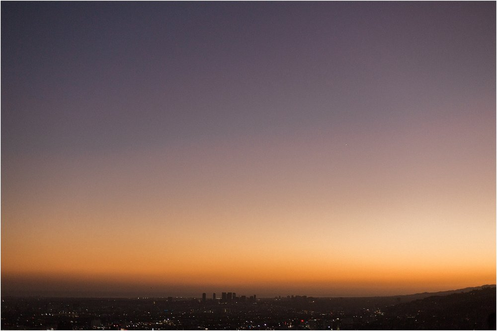 Griffith Observatory Sunset View