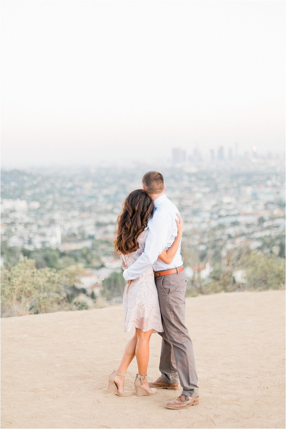 Couple at Griffith Observatory