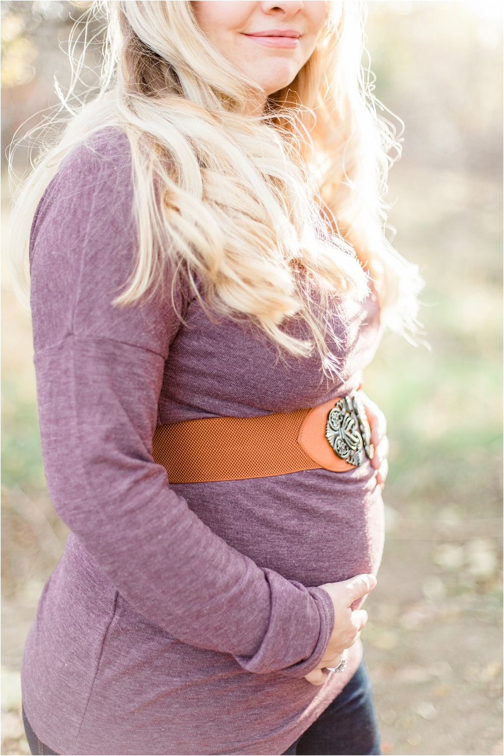 plum maternity style for her