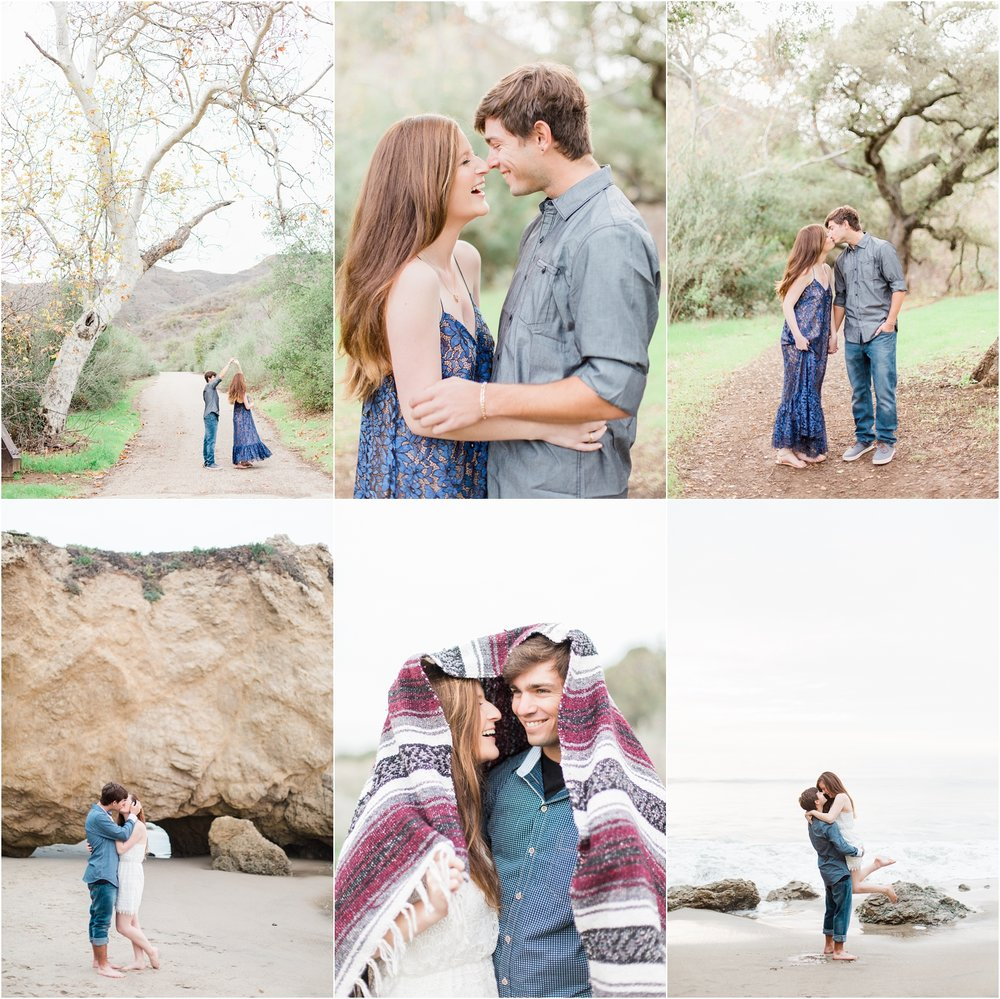 El Matador Engagement Session | Solstice Canyon Engagement Session