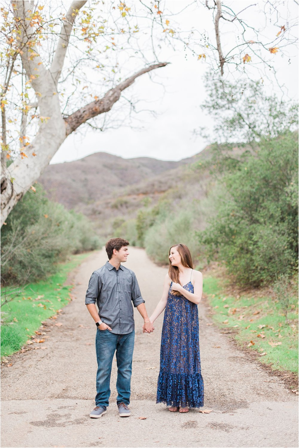 Solstice Canyon Engagement Session, Malibu, Ca