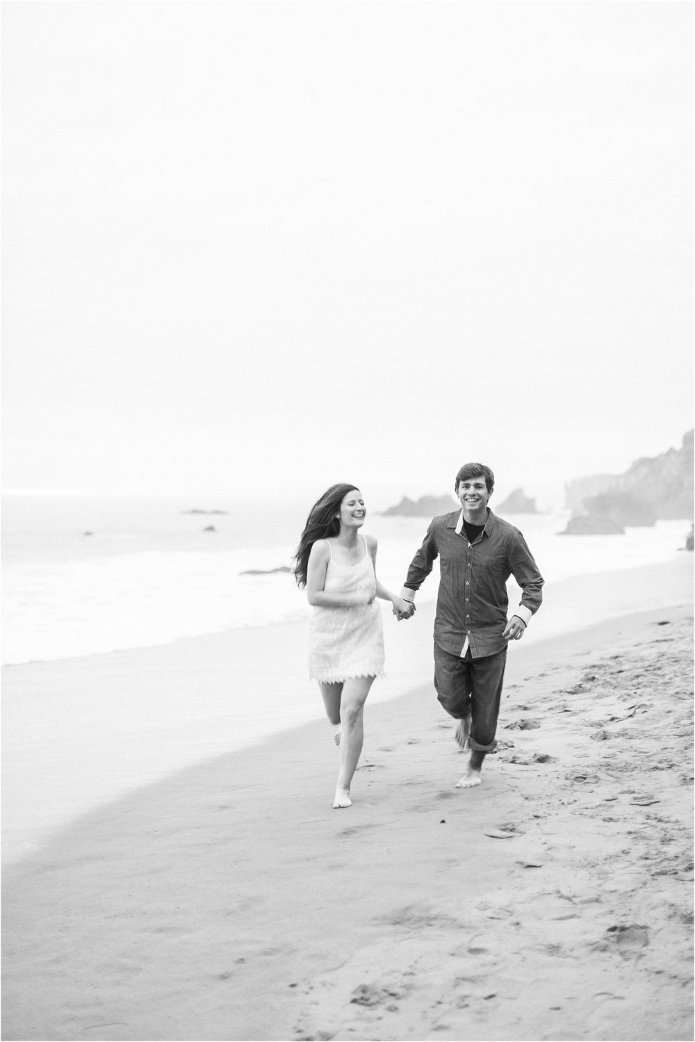 El Matador State Beach Engagement Session, Malibu, Ca