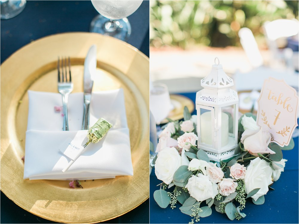 newhall mansion wedding | navy and blush wedding | daniellebaconphotography