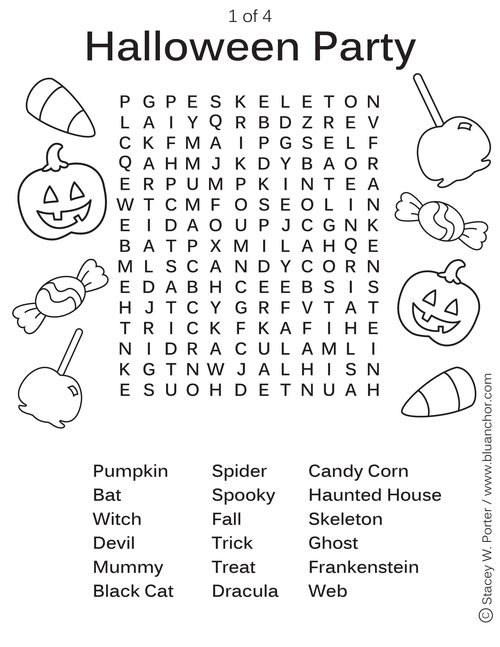 Common Worksheets » Halloween Activity Sheets - Preschool and ...