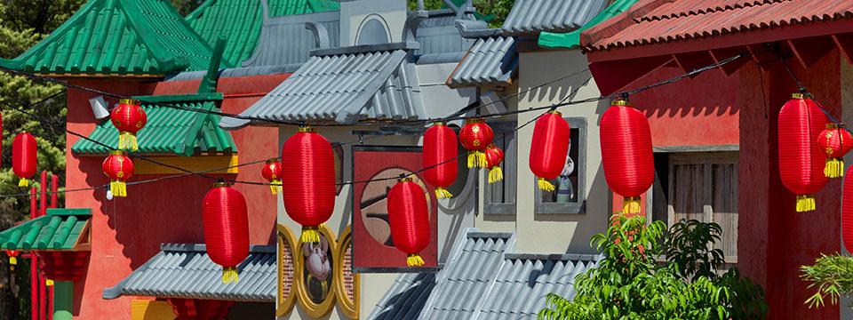 Village facades