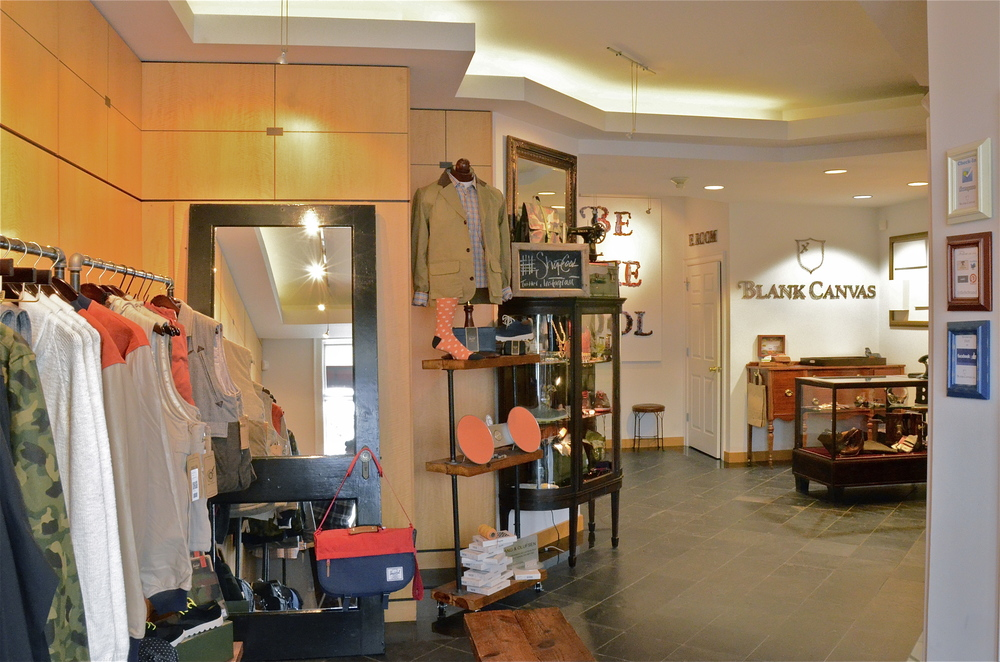 Blank Canvas Boutique U2014 Vision By Nicole | Interior Design Firm In Charlotte,  NC