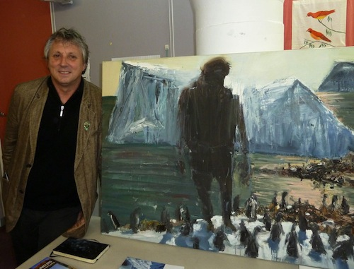 T  uesday 27 August 2013     Prizewinner Euan Macleod talked about being artist-in-residence in Antarctica.