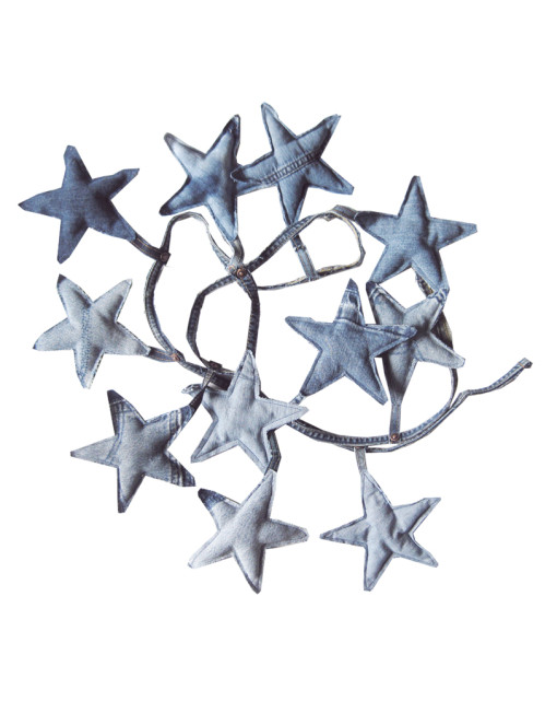 Denim Star Garland  39€