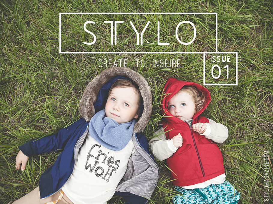 Create to inspire -  STYLO  is an all new sewing e-magazine!