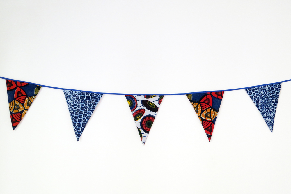BLUE AND ORANGE BUNTING.