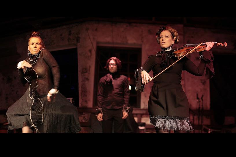 La Femme Rouge at Norpas-festival 2013.