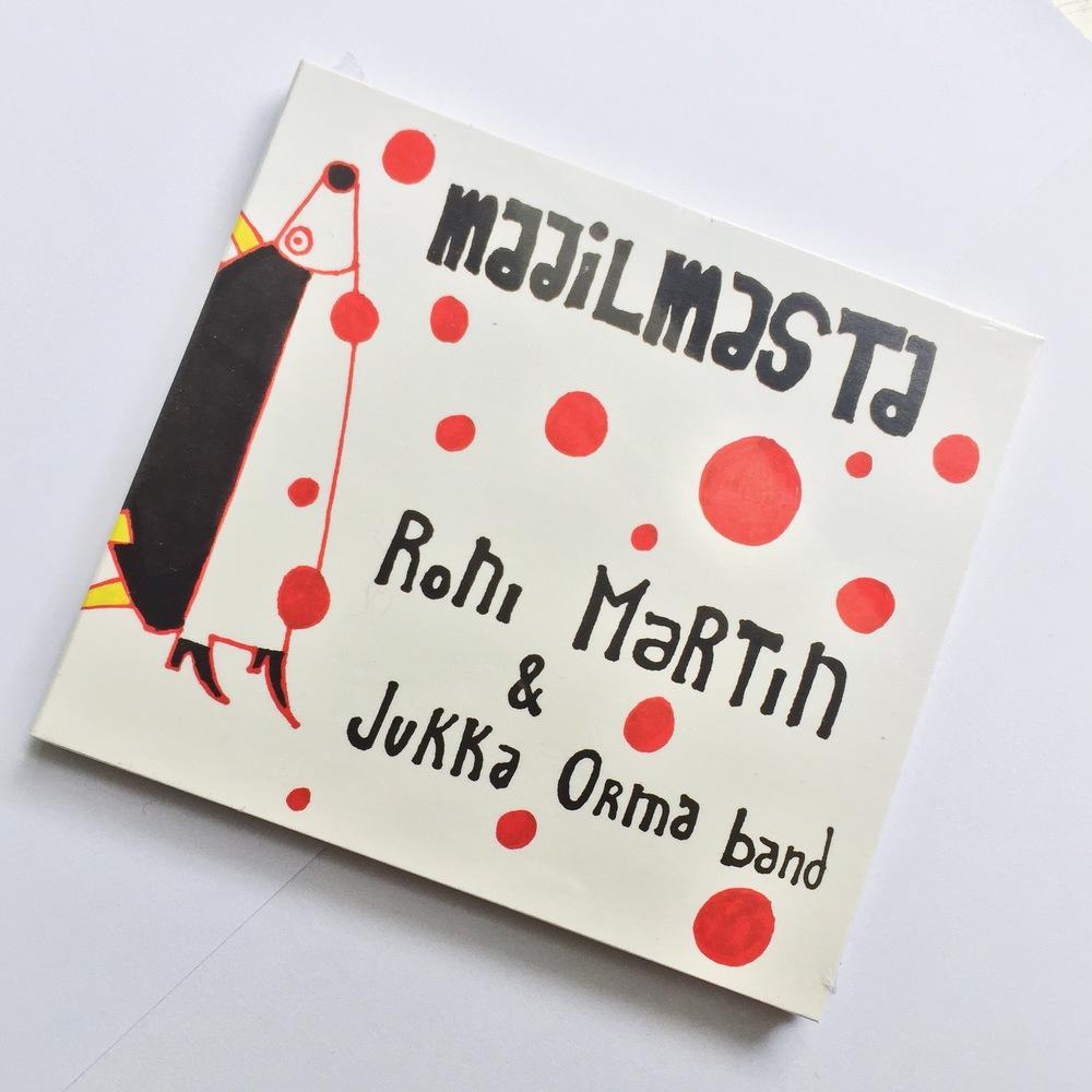 Roni Martin - Maailmasta CD12 € +toimituskulut