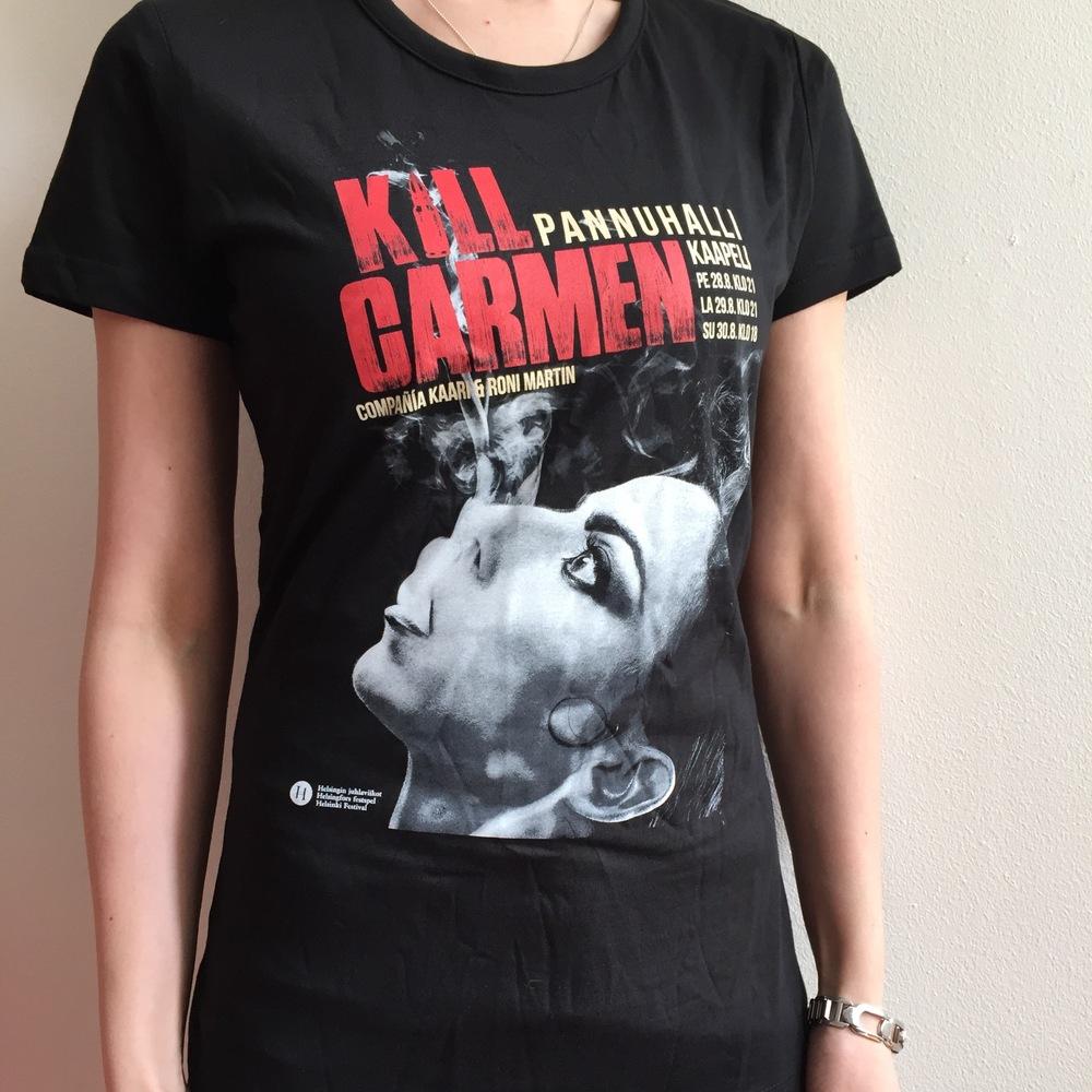 KILL Carmen T-paita 20 €+toimituskulut