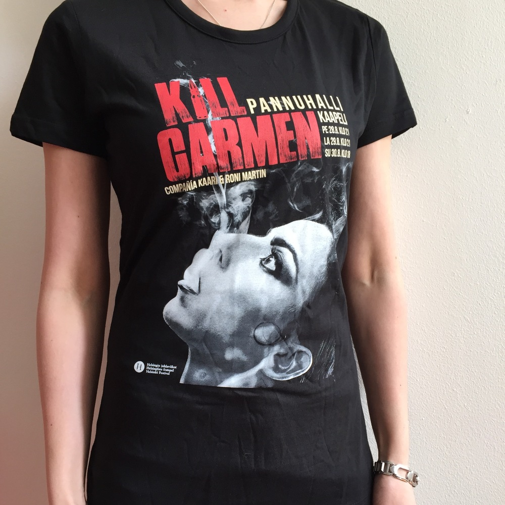 KILL Carmen T-shirt 20€ + shipping