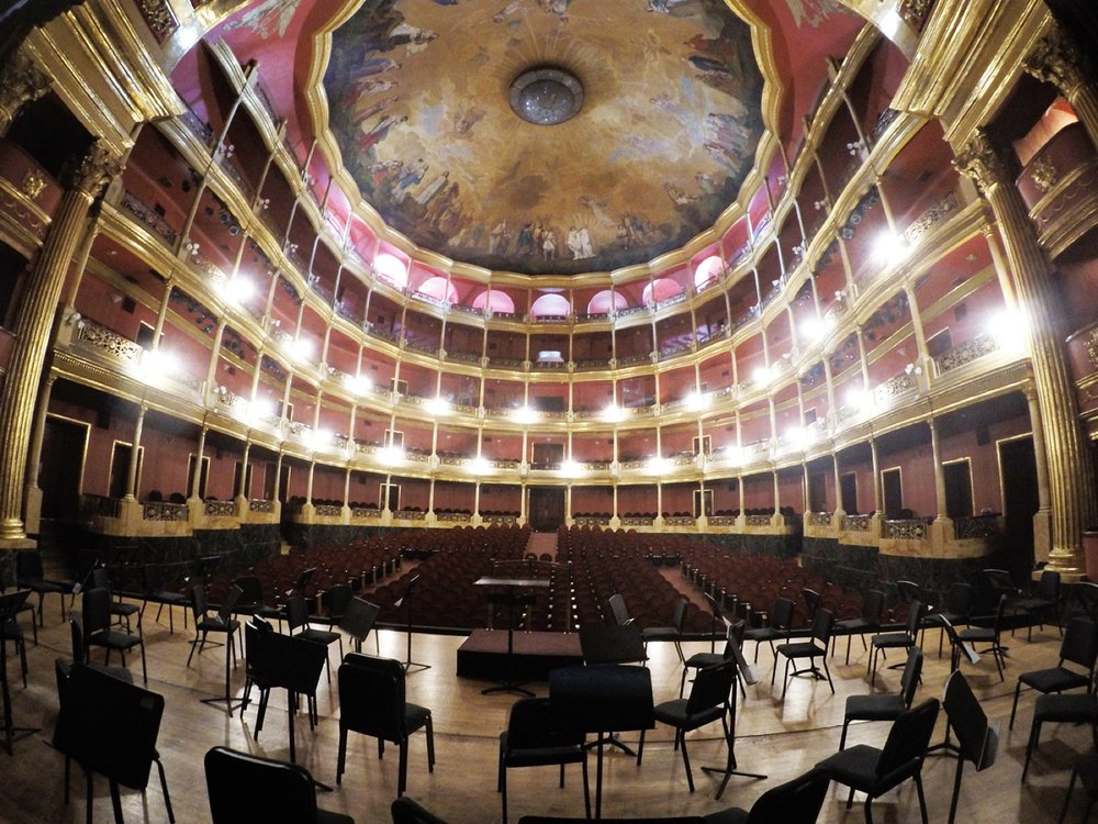 Teatro Degollado,Guadalajara, Mexico