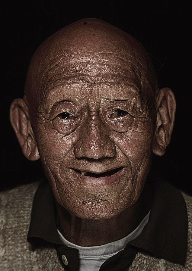 Ngawang Dorji 79 year old
