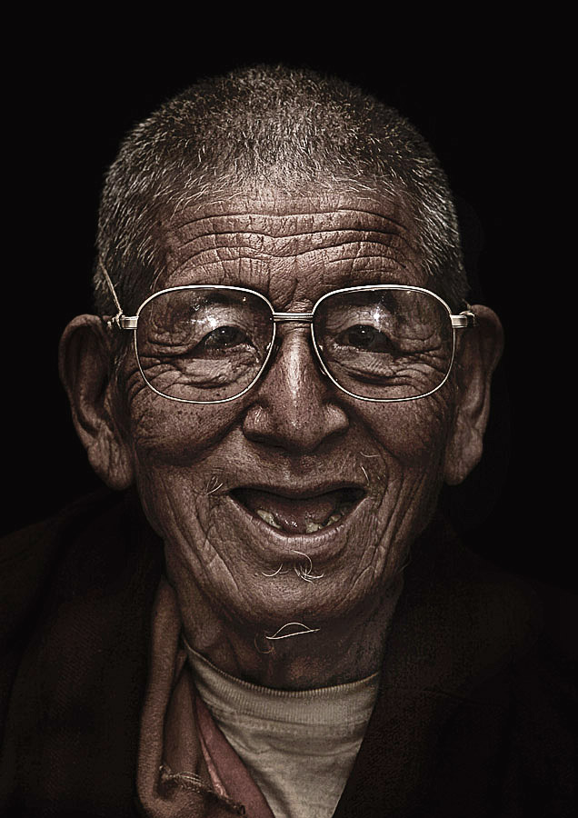 Dawa Tsering 84 years old