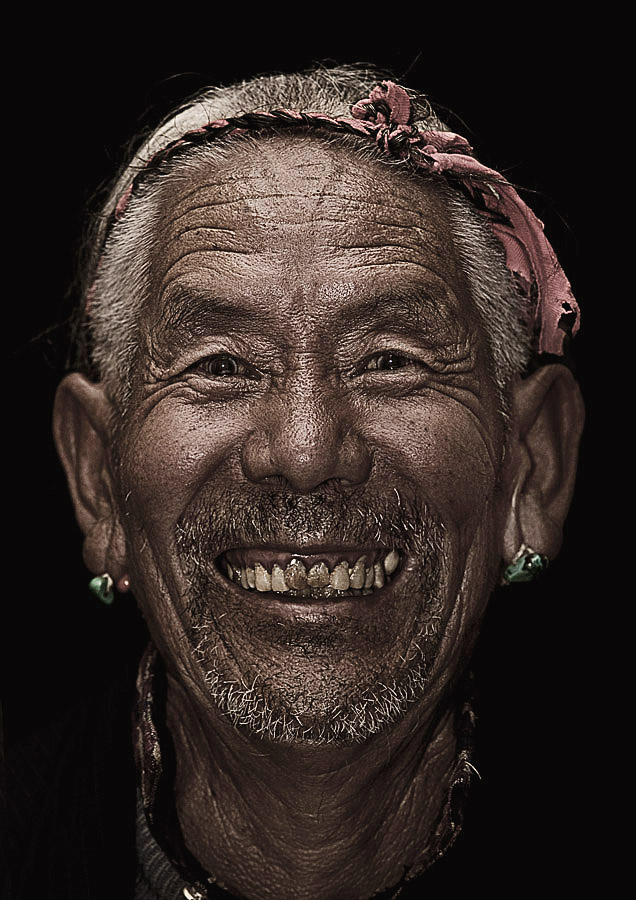 Lobsang Tsering 78 years old