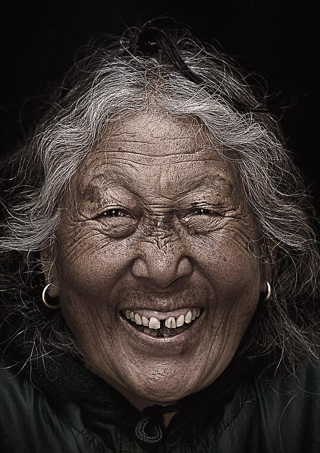 Namgyel Dolma 74 years old