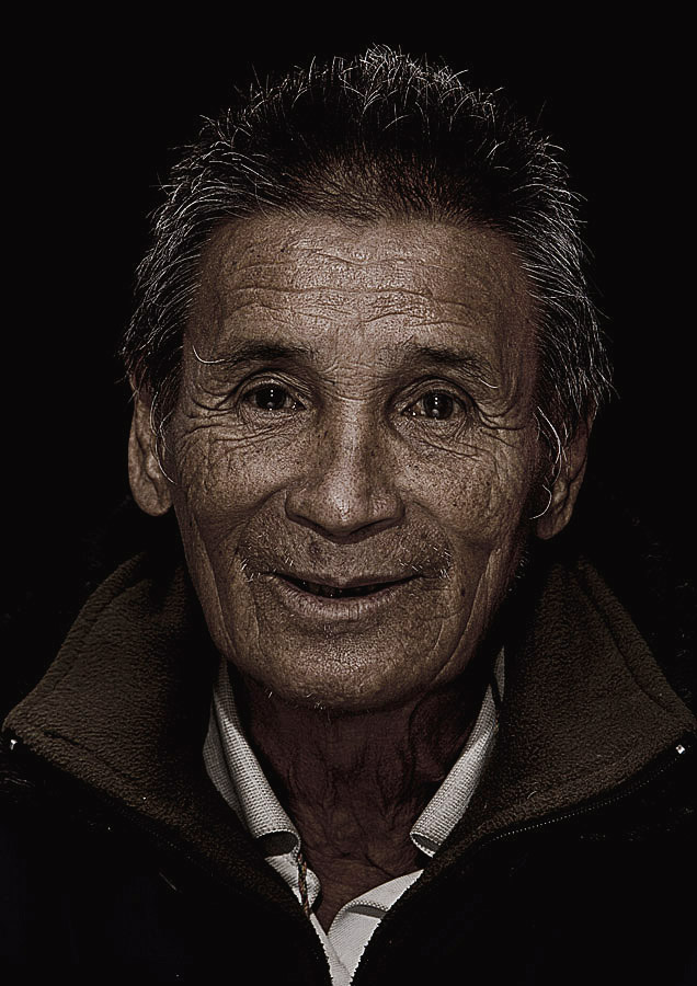 Samgay Norbu 73 years old