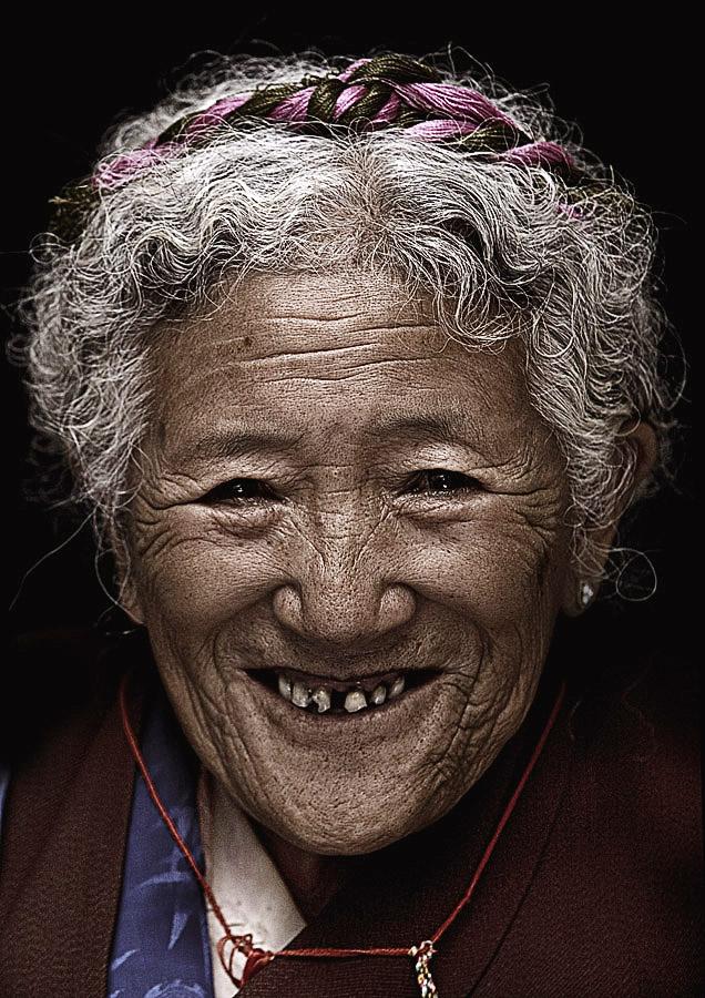 Tsering Lhamo 76 years old