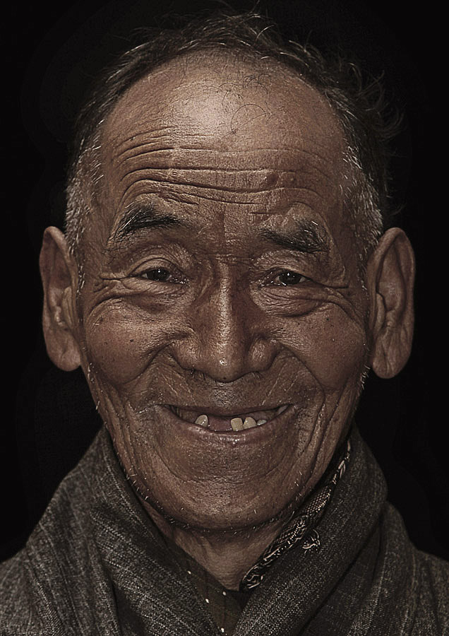 Tashi Dorjee 84 years old