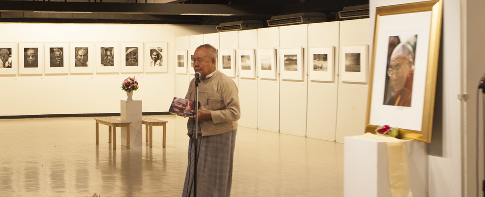 Arjarn Sulak Sivaraksa speech at opening night.