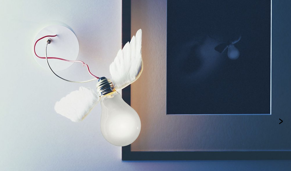 Lampa Lucellino av Ingo Maurer   Foto:   Ingo Maurer
