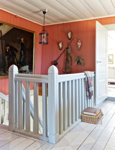 Hall och trappa - övervåning Foto: Ken Pils/ Leva&Bo, Expressen