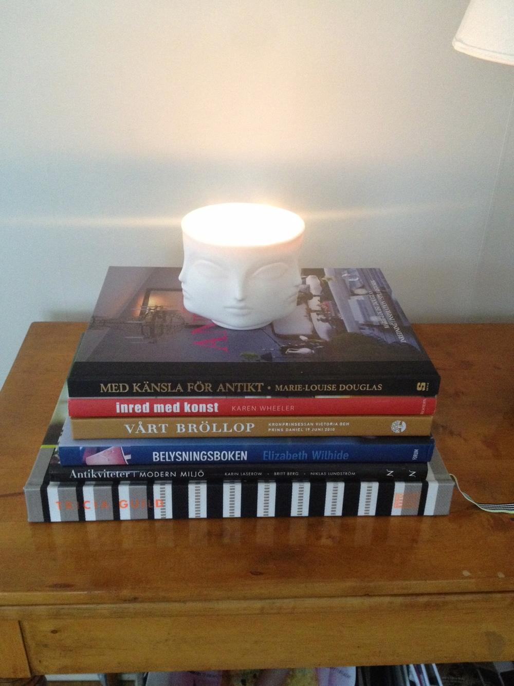 Muse Blanc Ceramic Candle   Foto:  Palatsliv