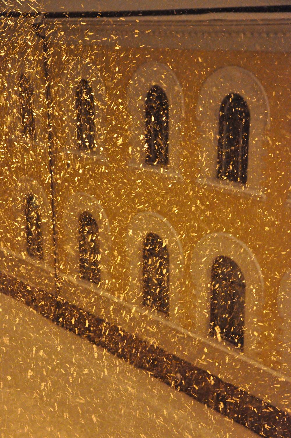 Snö, snö, snö Foto: Palatsliv