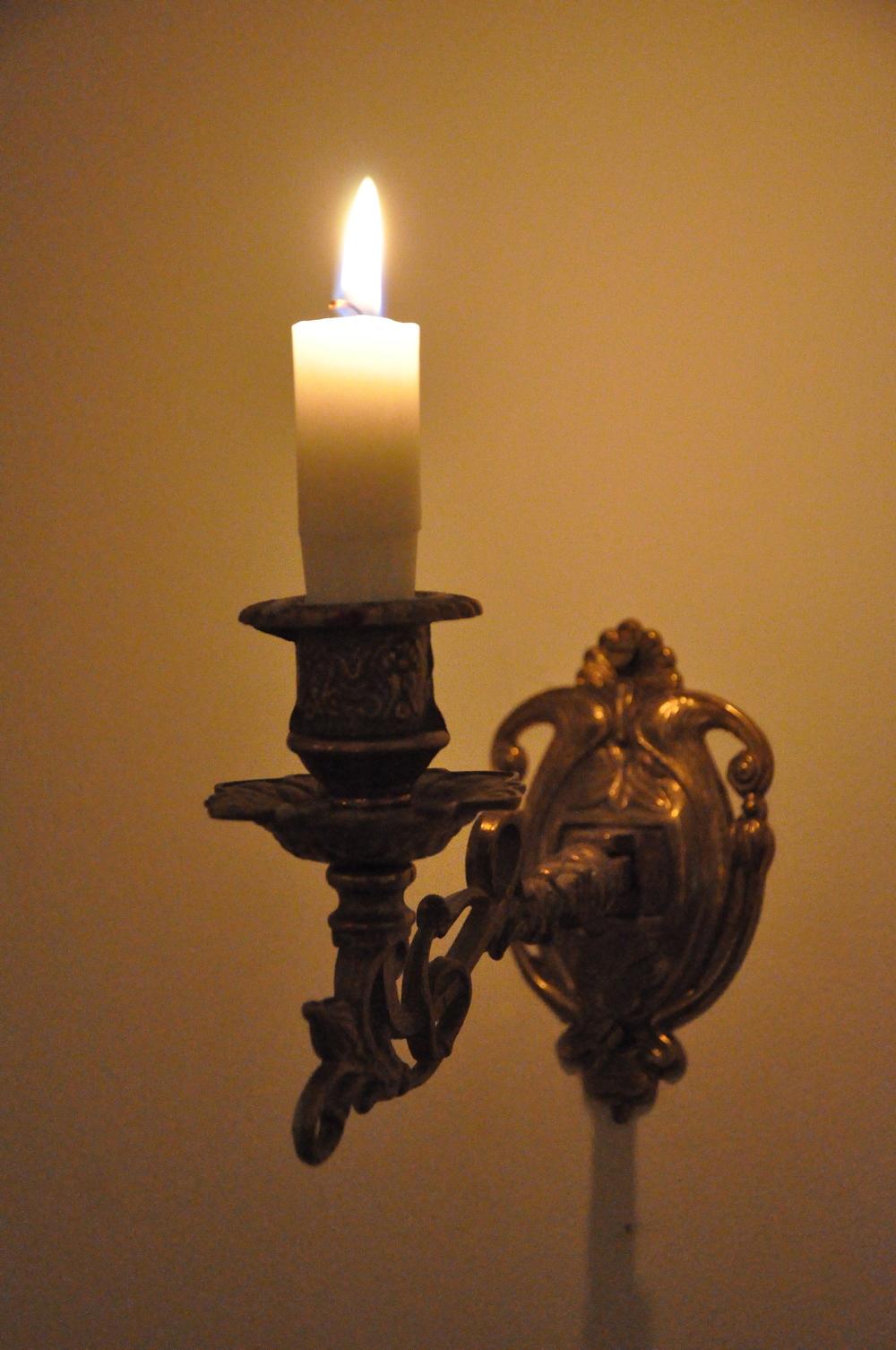 …...i ljuslampetten………   Foto:  Palatsliv