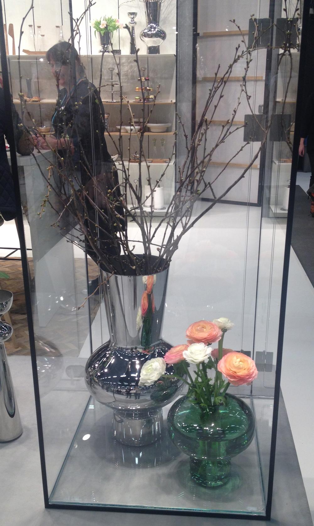 Fler vaser från Georg Jensen   Foto:  Palatsliv